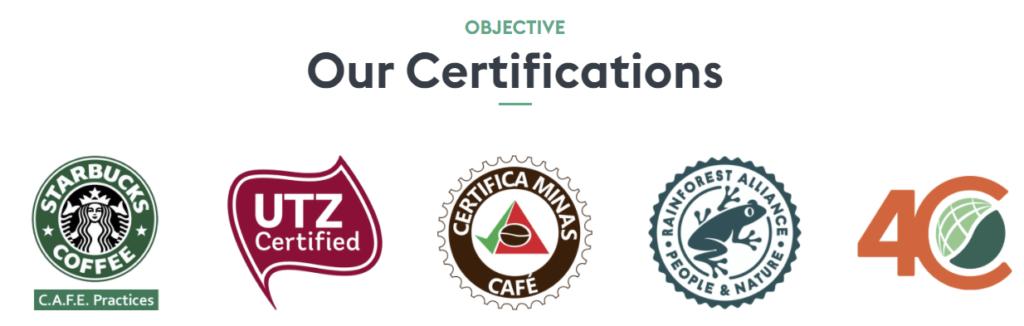 Ethiopian coffee certifications